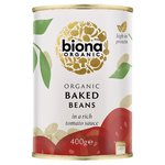 Biona Organic Baked Beans in Rich Tomato Sauce