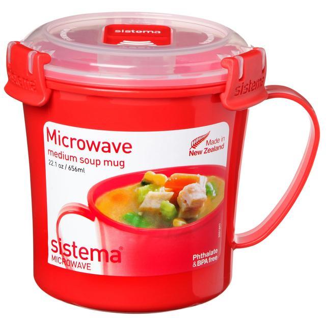 Sistema Plastic Soup Mug Ocado