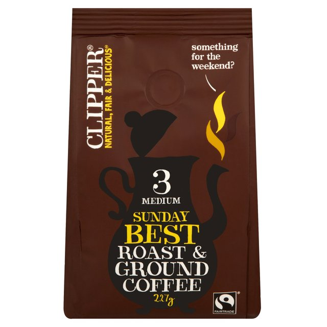 Clipper Sunday Best Roast & Ground Coffee
