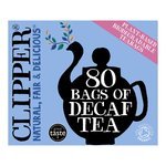Clipper Organic Naturally Decaffeinated Tea Bags