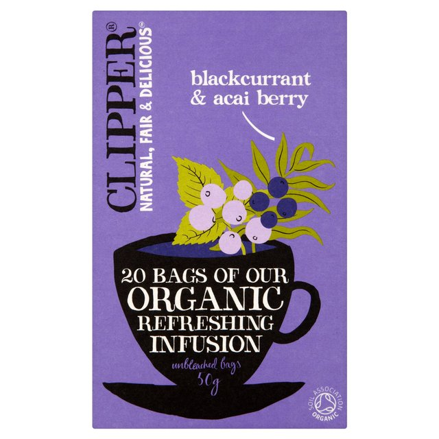Clipper Organic Infusion Blackcurrant & Acai Berry