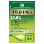 Twinings Green Tea Bags Decaffeinated