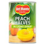 Del Monte Peach Halves in Light Syrup