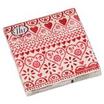 Emma Bridgewater Red Hearts 3ply Paper Napkins, 33cm