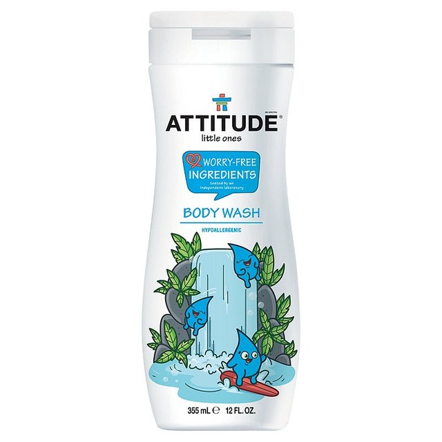 Attitude Little Ones Hypoallergenic Body Wash