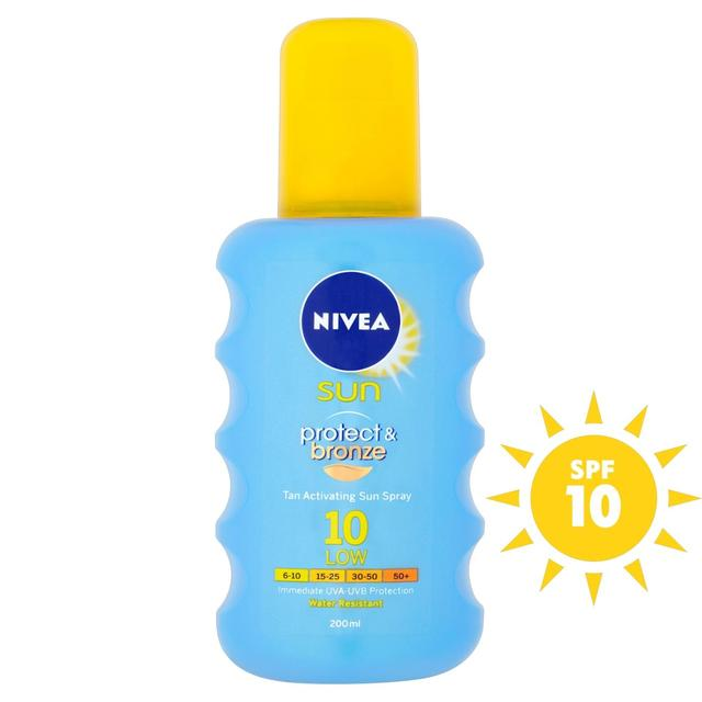 Nivea Sun Protect & Bronze Spray SPF 10
