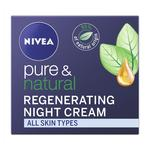 NIVEA Pure & Natural Night Face Cream