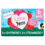 Yeo Valley Little Yeos Organic Fromage Frais Strawberry & Raspberry