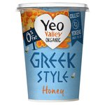 Yeo Valley Organic Greek Style with Honey 0% Fat