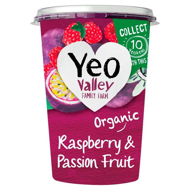 Yeo Valley Organic Raspberry & Passion Fruit Yogurt