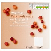 Waitrose Deliciously Nutty Low Fat Yogurt