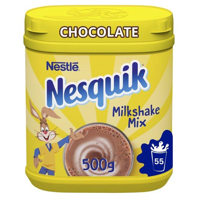 Nesquik Chocolate Milkshake Tub 500g From Ocado