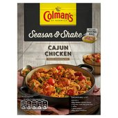 Colman's Season & Shake Cajun Chicken Seasoning Mix