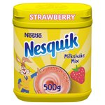 Nesquik Strawberry Milkshake Tub