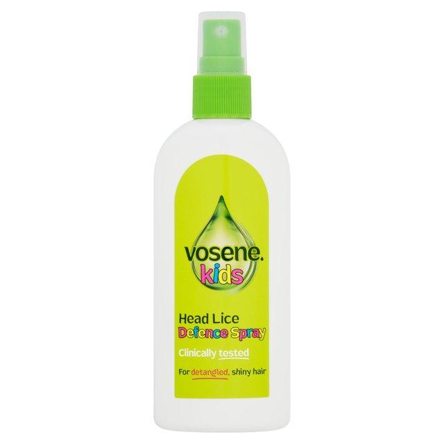 vosene kids 3 in 1 leave in spray head lice repellent