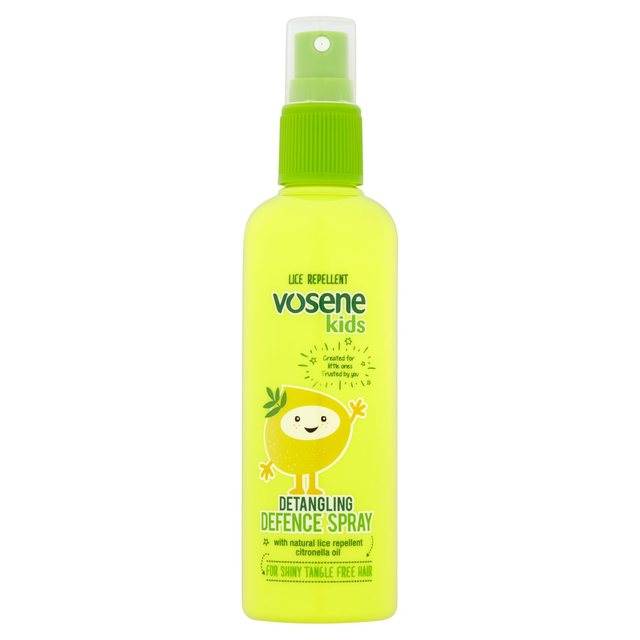Vosene Kids Extra Shine Detangler Spray with Head Lice Repellent