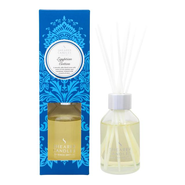 Shearer Candles Reed Diffuser, Egyptian Cotton