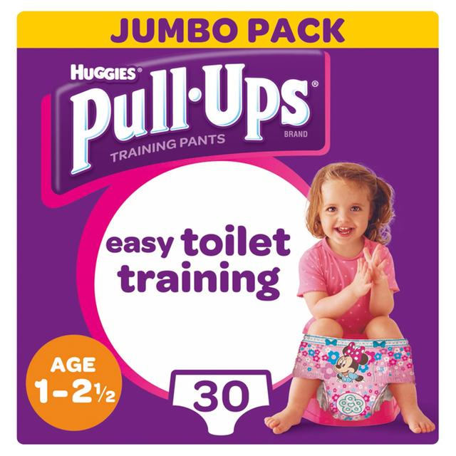 Huggies Medium Pull-Ups Girl Economy