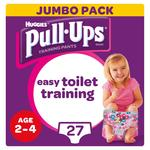 Huggies Pull Ups Day Time Girls 2-4 Years Potty Training Pants