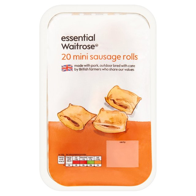20 Mini Sausage Rolls essential Waitrose