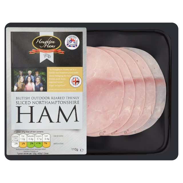 Houghton Outdoor Reared Thinly Sliced Ham