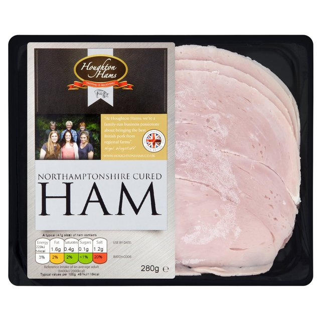 Houghton British Sliced Cooked Ham