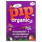 Pip Organic Strawberry & Blackcurrant Juice Wedges