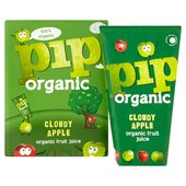 Pip Organic Cloudy Apple Juice Wedges