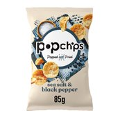 Popchips Salt & Pepper Popped Potato Crisps