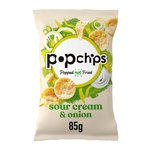 Popchips Sour Cream & Onion Popped Potato Crisps