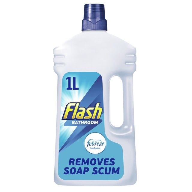 Bathroom Cleaner flash bathroom cleaner liquid 1l from ocado