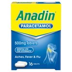 Anadin Paracetamol 500mg Tablets