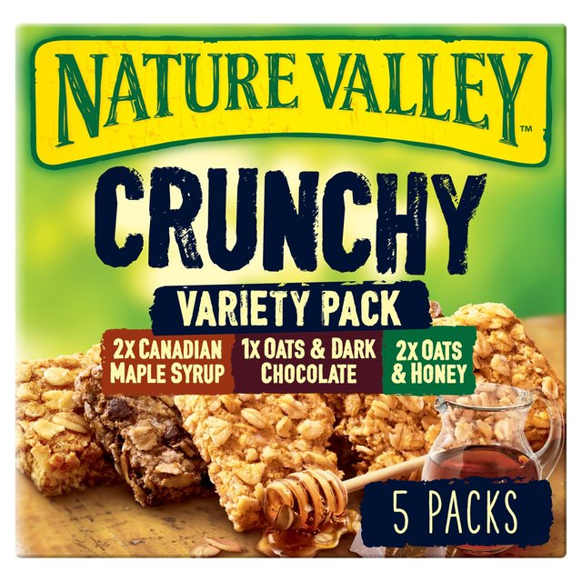 Nature Valley Crunchy Granola Bars Variety Pack 5 x 42g ...