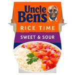 Uncle Ben's Rice Time Sweet & Sour Microwave Ready Meal