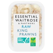 Essential Waitrose Raw King Prawns