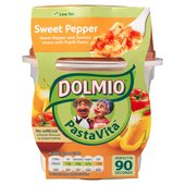 Dolmio Pasta Vita Sweet Pepper Microwave Ready Meal