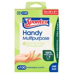 Spontex Handy Multi-Purpose Disposable Gloves