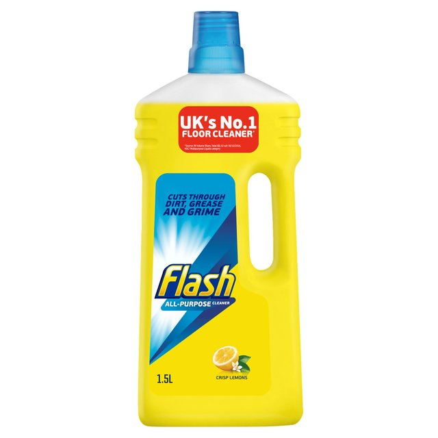 Flash All Purpose Liquid Cleaner Lemon