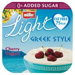 Muller Light Greek Style Cherry Yoghurt