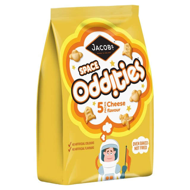 Jacobs Oddities Cheese Multipack 25g x