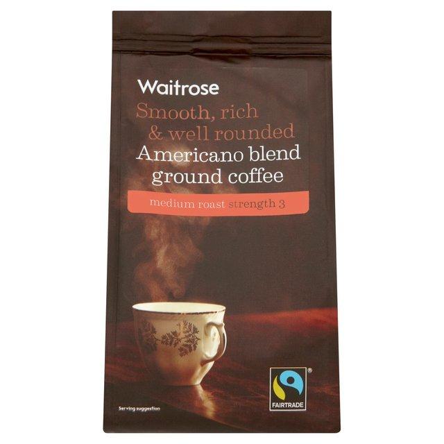 Waitrose Fairtrade Americano Ground Coffee Ocado