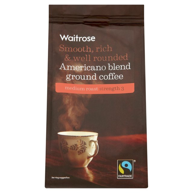 Waitrose Fairtrade Americano Ground Coffee