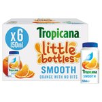 Tropicana Little Bottles Orange Juice Smooth