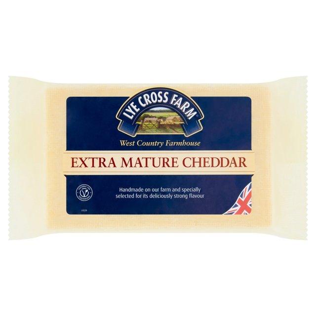 Lye Cross Farm Extra Mature Cheddar   Ocado