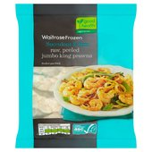 Waitrose Raw Jumbo King Prawns Frozen
