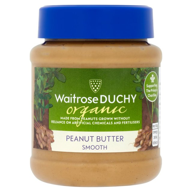 Duchy Waitrose Organic Smooth Peanut Butter
