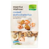 Essential Waitrose Frozen Cooked Seafood Selection