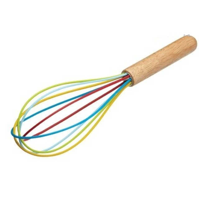 Let's Make Bright Silicone Kids Whisk