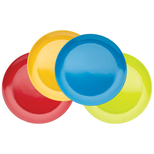 Miniamo Bright Plates 21cm, Assorted Colours