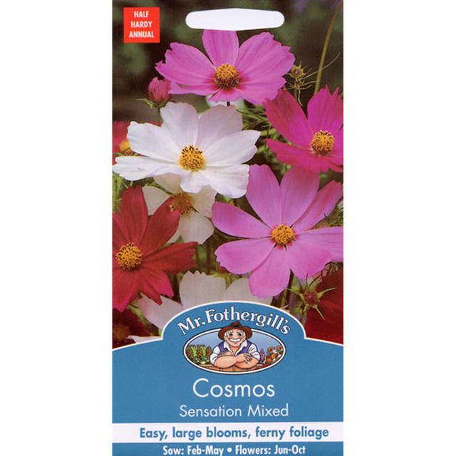 Mr Fothergill's Seeds - Cosmos Sensation Mixed
